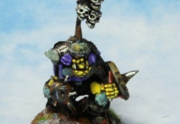 Orc Champion 2 (from EM 4 miniatures - Fantasy range)