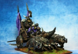 Orc General War Chariot (from EM 4 miniatures - Fantasy range)