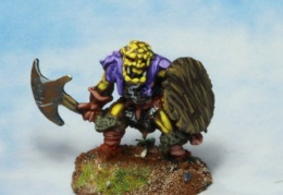 Orc with axe 1 (from EM 4 miniatures - Fantasy range)