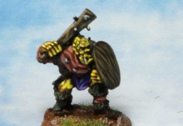 Orc with club 1 (from EM 4 miniatures - Fantasy range)