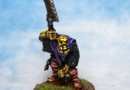 Orc with spear 2 (from EM 4 miniatures - Fantasy range)