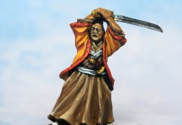Samurai in everyday clothing (Perry Miniatures)