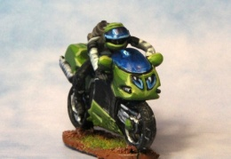 Motorbike 1 (from EM 4 miniatures - Future skirmish range)