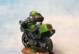 Motorbike 1 back (from EM 4 miniatures - Future skirmish range)