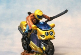 Motorbike 2 (from EM 4 miniatures - Future skirmish range)