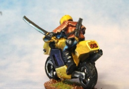 Motorbike 2 back (from EM 4 miniatures - Future skirmish range)