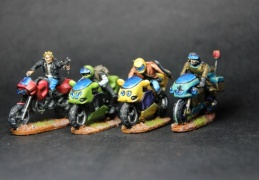 Bikers group 1 (EM-4 Miniatures - Future Skirmish).JPG