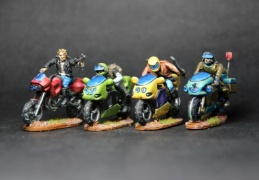 Bikers group 2 (EM-4 Miniatures - Future Skirmish).JPG