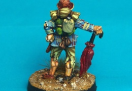 Scavenger - Gentleman with Stunbrella back (Forlorn Hope - Future Skirmish)