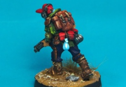 Scavenger - Rogue. AR with Survival Equip back (Forlorn Hope - Future Skirmish)