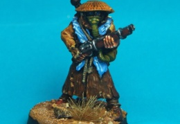 Scavenger - Standing with Shotgun and Straw Hat (Forlorn Hope - Future Skirmish)