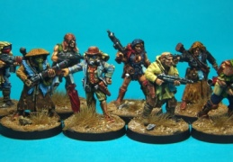 Scavenger group (Forlorn Hope - Future Skirmish)