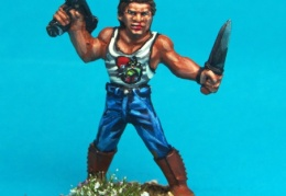Jack Burton (Northstar Military Figure - A Fistful of Kung Fu)