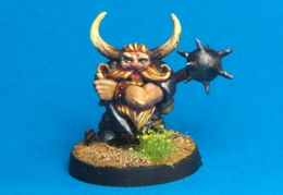 689 – Chaos Dwarf with spiked mace (CP Models – Chaos Dwarf)