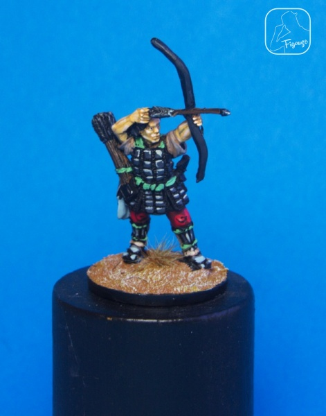 Ashigaru with Bow (Perry Miniatures).jpeg